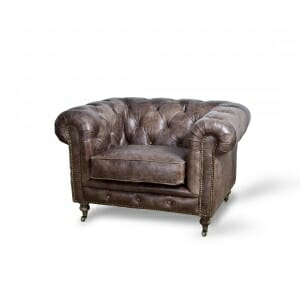 Chesterfield-fauteuil-vintage