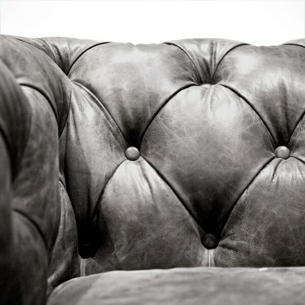 Chesterfield-fauteuil-zwart-leder