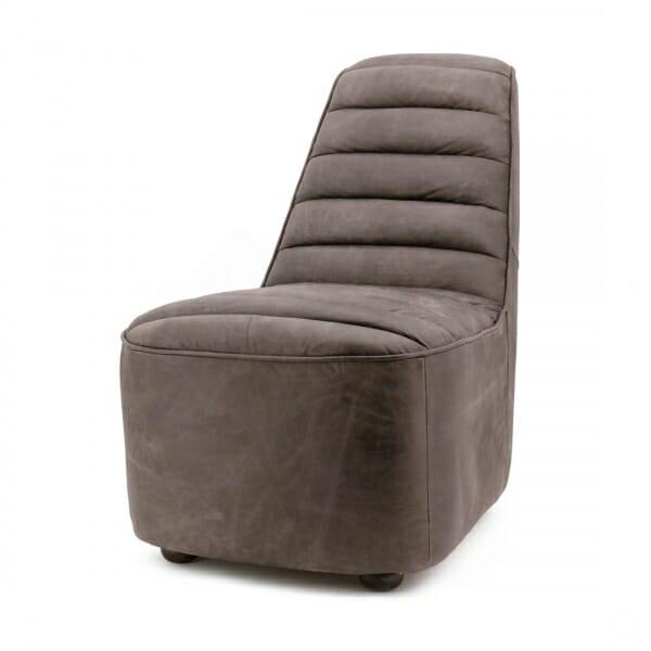 Design-fauteuil-retro-bruin