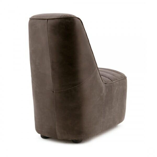 Design-fauteuil-retro-bruin-achterzijde