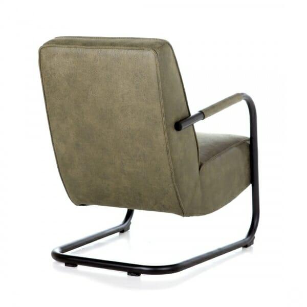 Industrieel-fauteuil-stof-groen-achterzijde