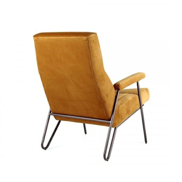 Luxe-fauteuil-velvet-oker-achterzijde