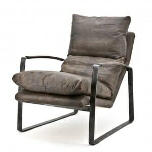 Vintage-leder-fauteuil